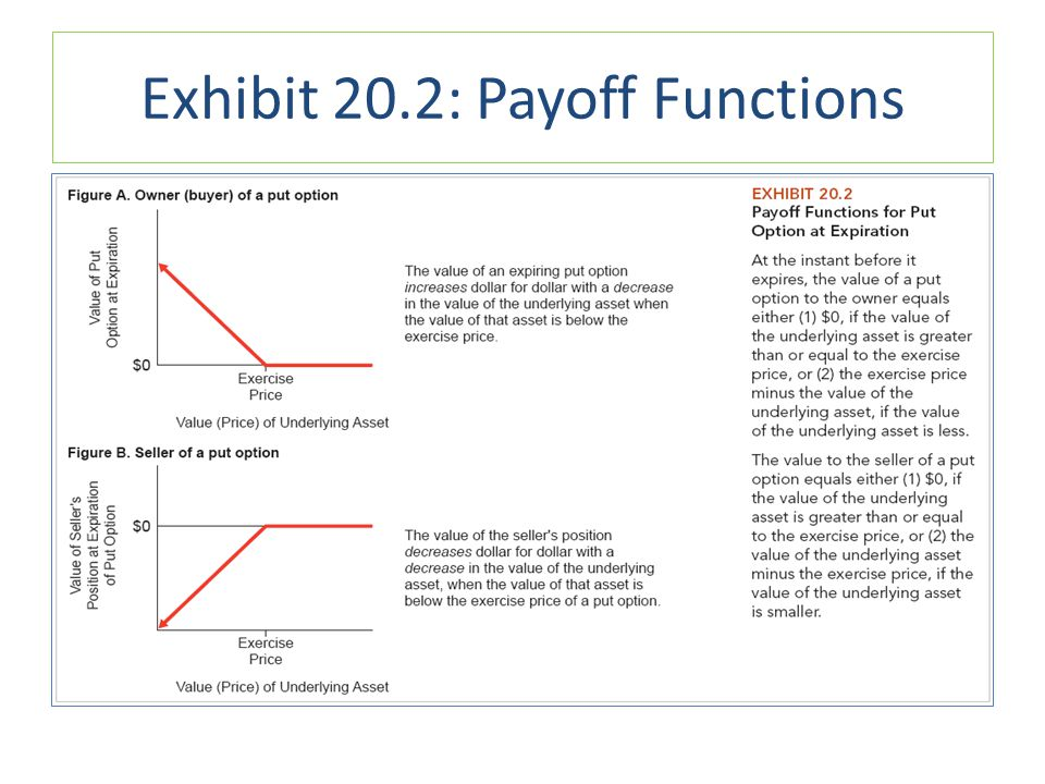Exhibit 20.2: Payoff Functions