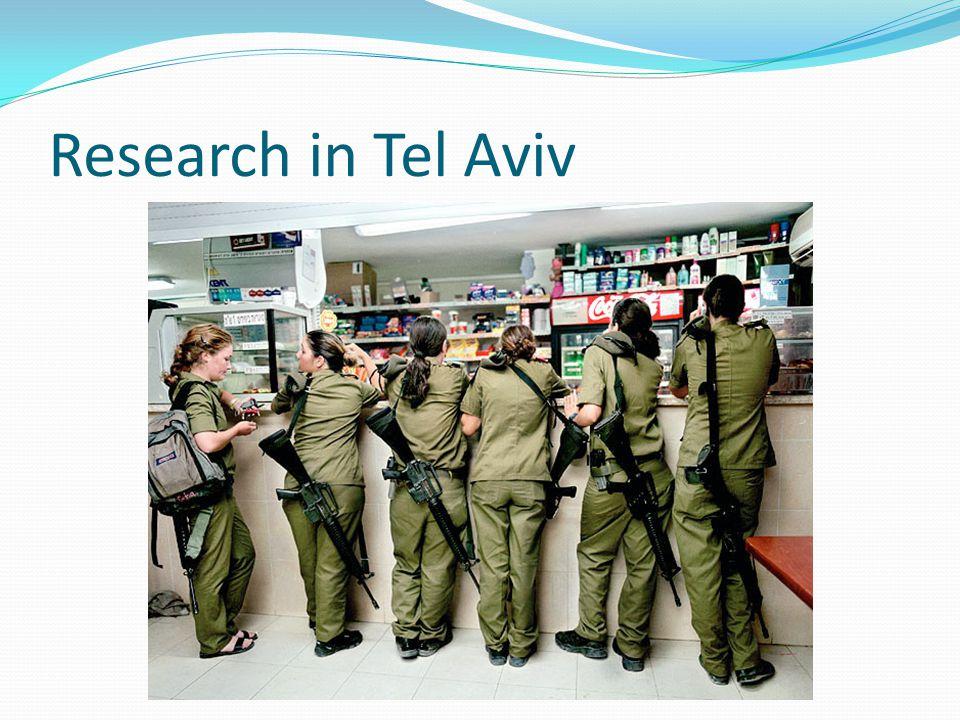 Research in Tel Aviv