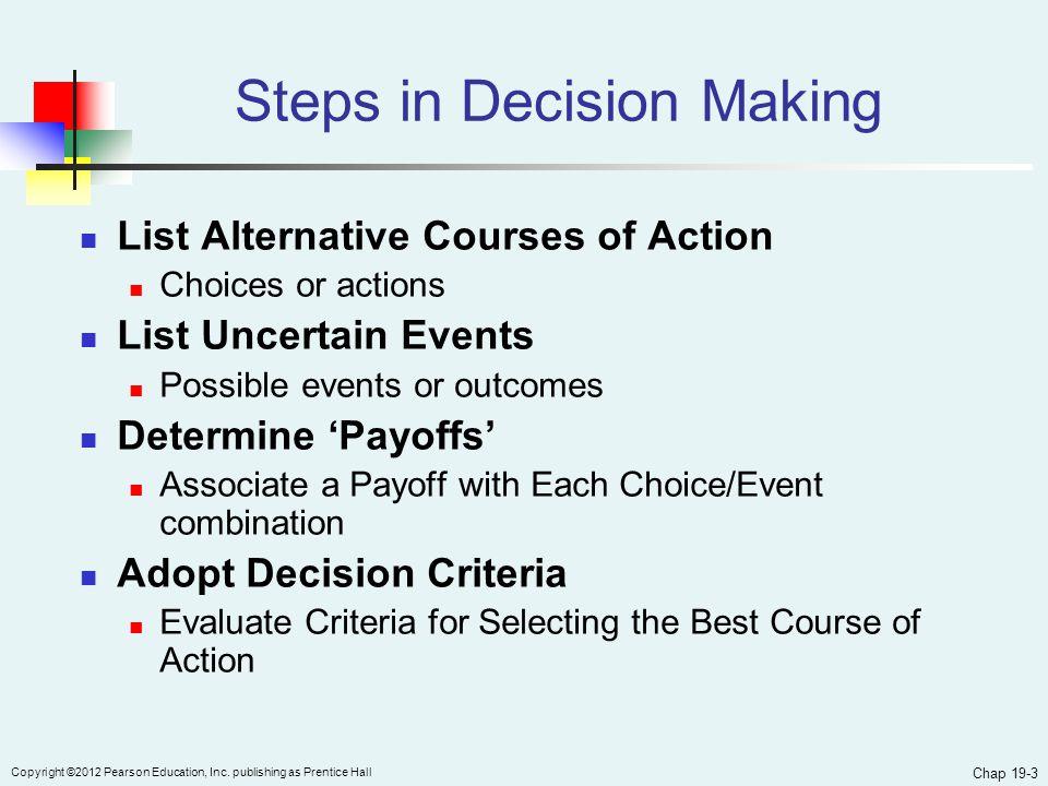 Chap 19-3 Copyright ©2012 Pearson Education, Inc.