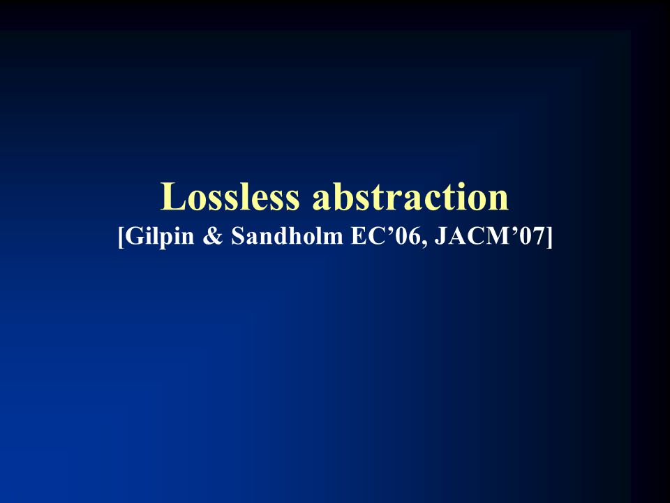Lossless abstraction [Gilpin & Sandholm EC'06, JACM'07]