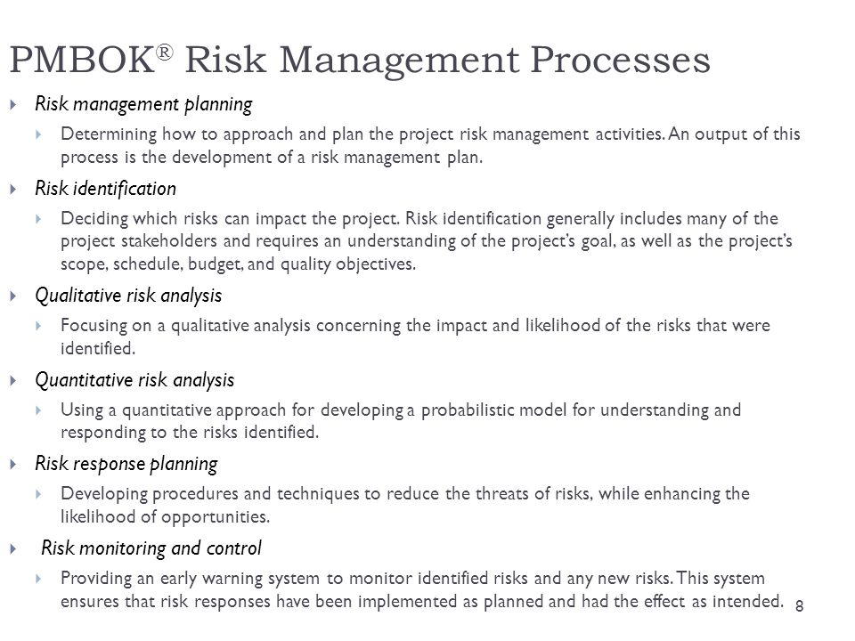  The fifth layer includes known risks, known-unknown risks and unknown-unknown risks  Known: events that are going to occur  Known-unknown: identifiable uncertainty  You pay an electricity bill each month, but the amount changes based on usage  Unknown-unknown: known only after they occur 19 IT Project Risk Identification Framework