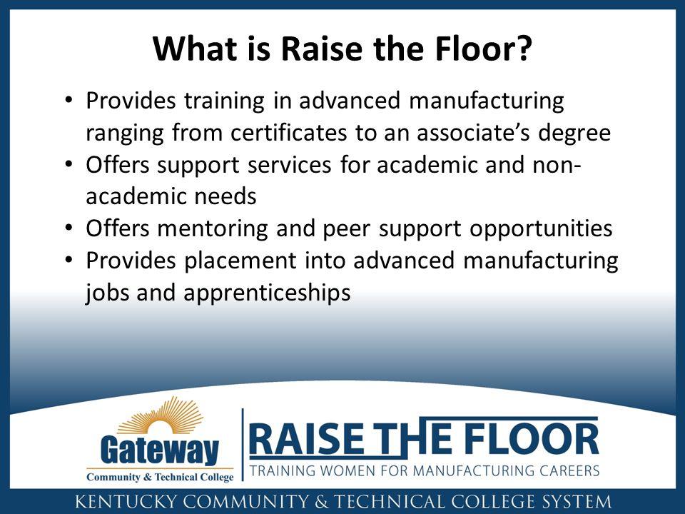 What is Raise the Floor.