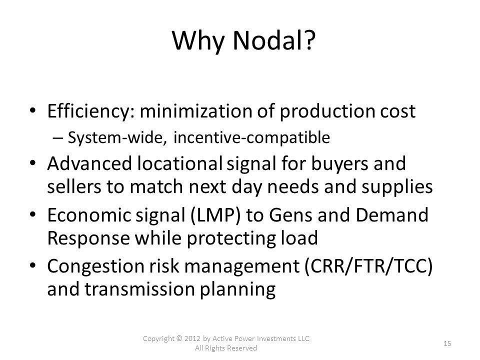Why Nodal.
