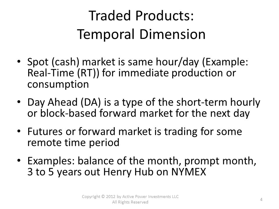 Why invest in power nodal markets.