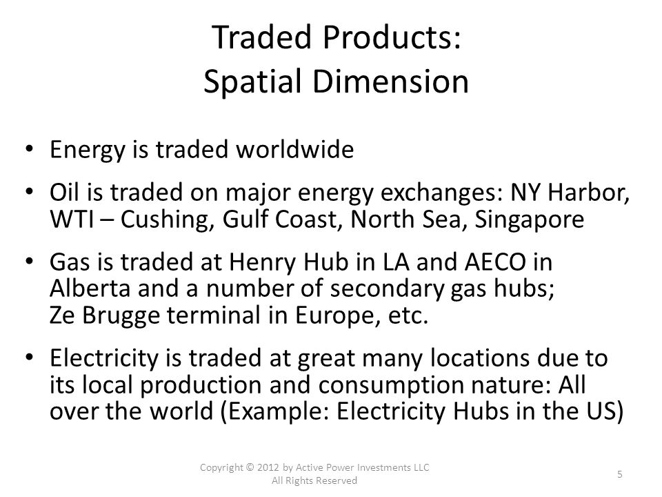 Locational Marginal Prices in Nodal Markets Copyright © 2012 by Active Power Investments LLC All Rights Reserved 16