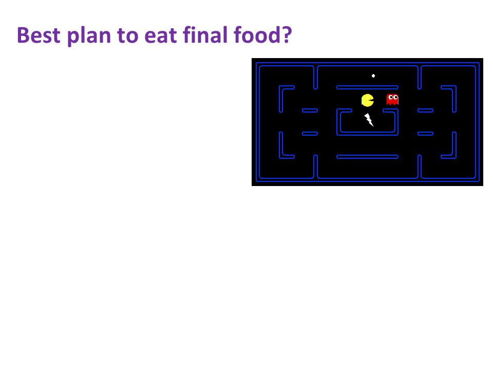 Best plan to eat final food