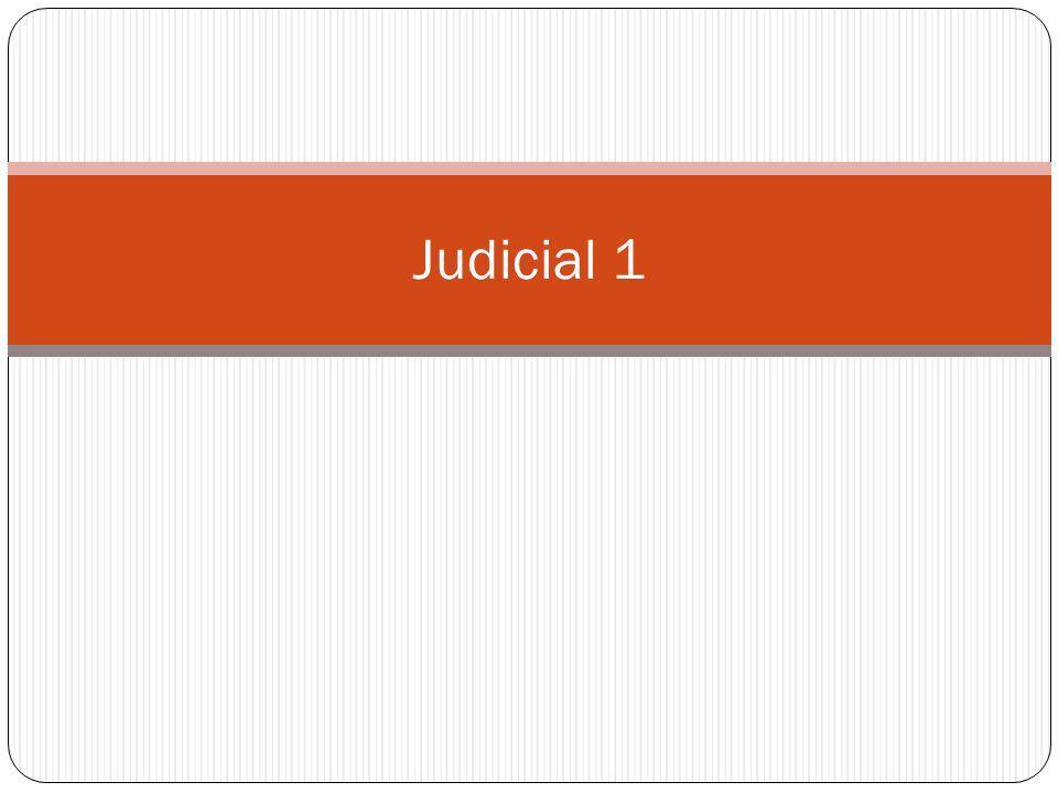 Check for understanding Where is judicial review mentioned in the Constitution.