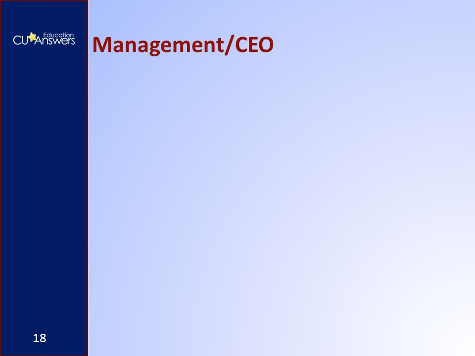 Management/CEO 18