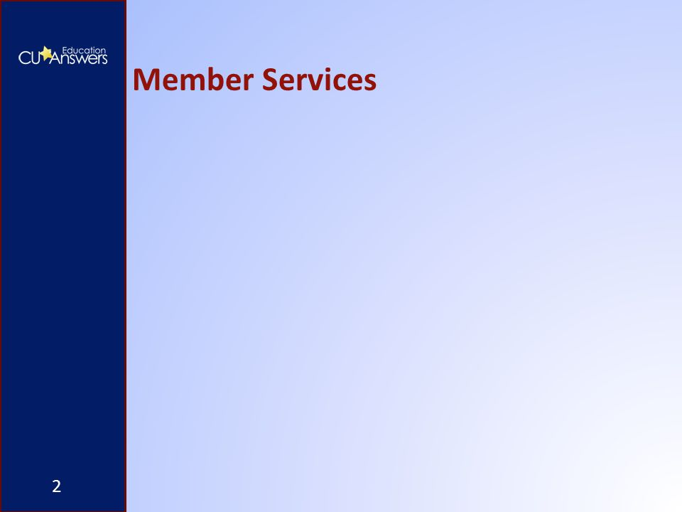 Member Services 2