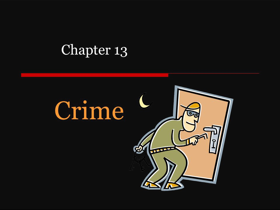 Crime Chapter 13