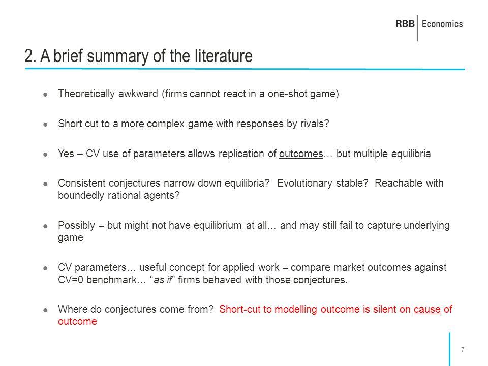 8 3. A broader perspective on CV models
