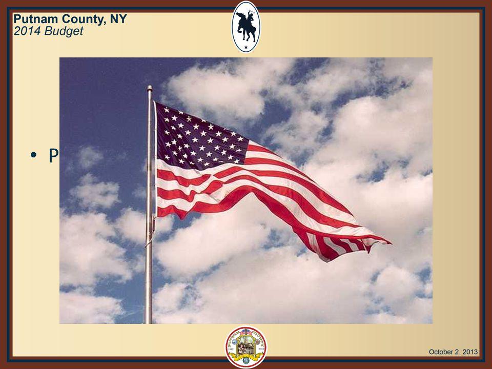Adjournment Richard T. Othmer, Jr., Chairman Putnam County Legislature