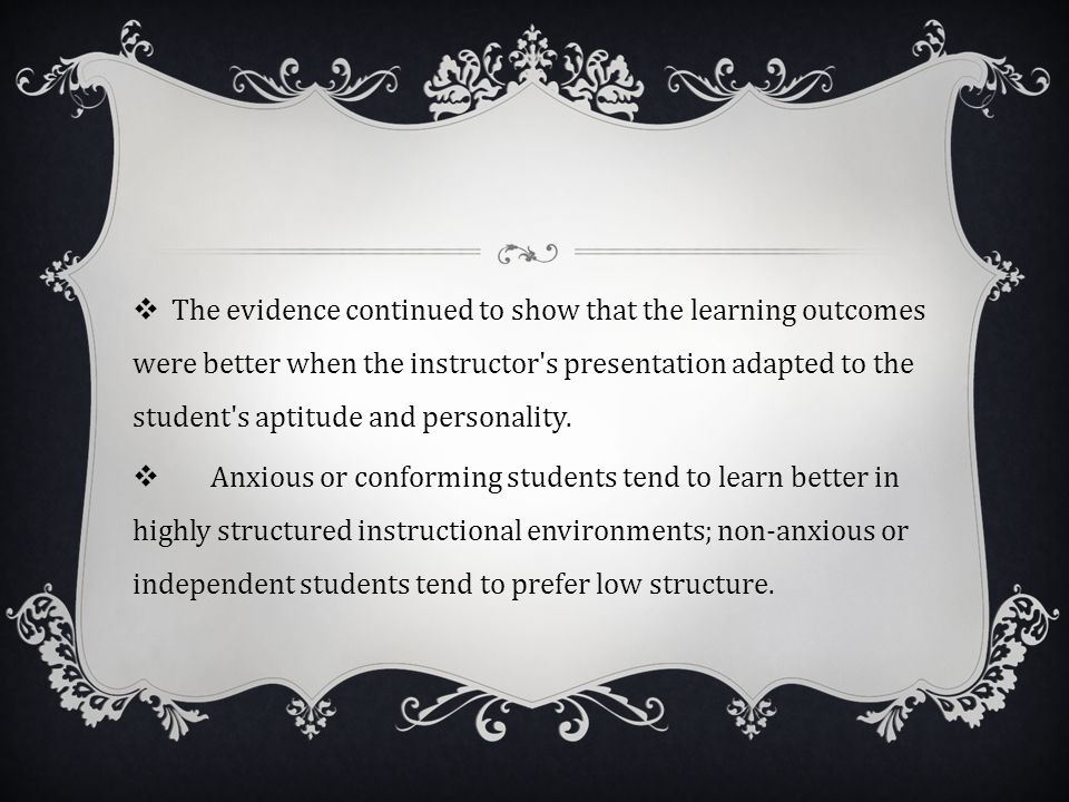 PROGRAM EVALUATION  Cronbach quested for a better explanation of learning in respond to instruction; making countless contributions to educational ps