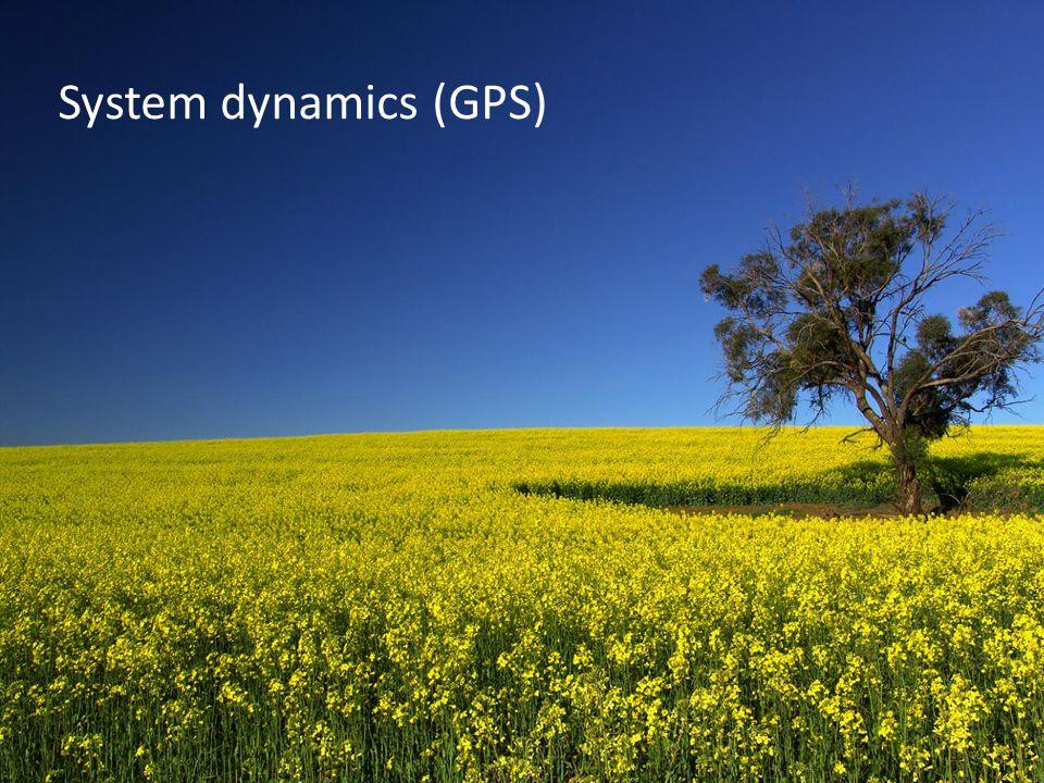 System dynamics (GPS)