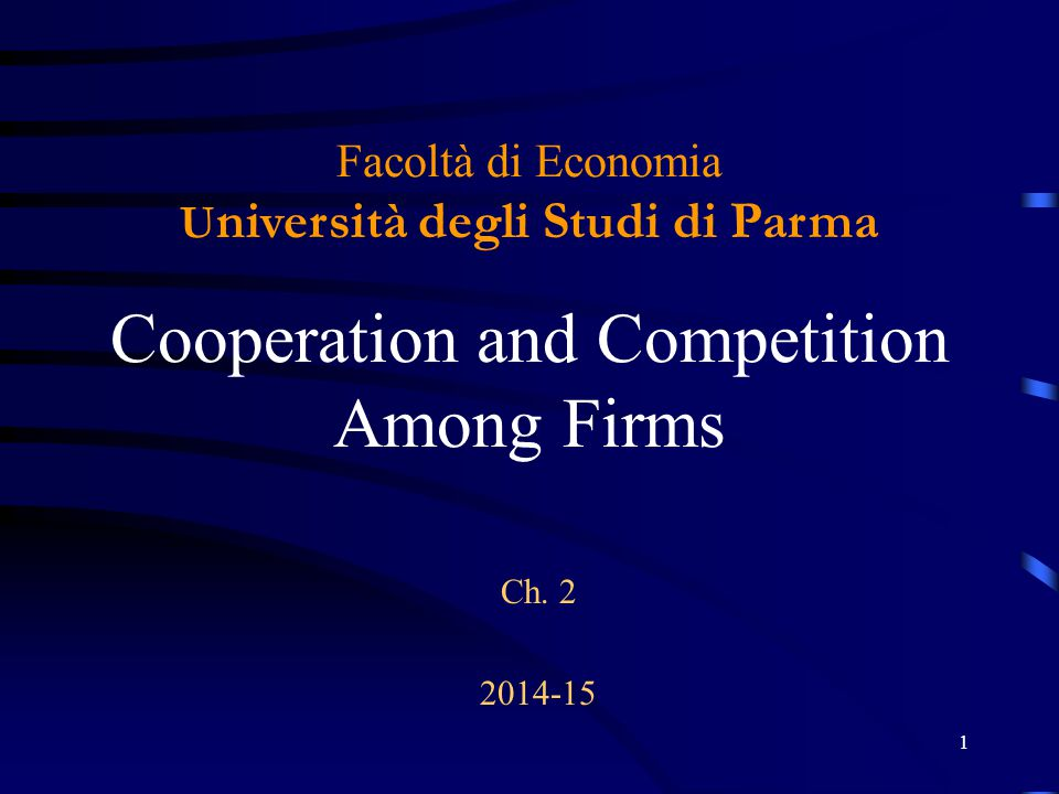 2 Costs of Cooperation