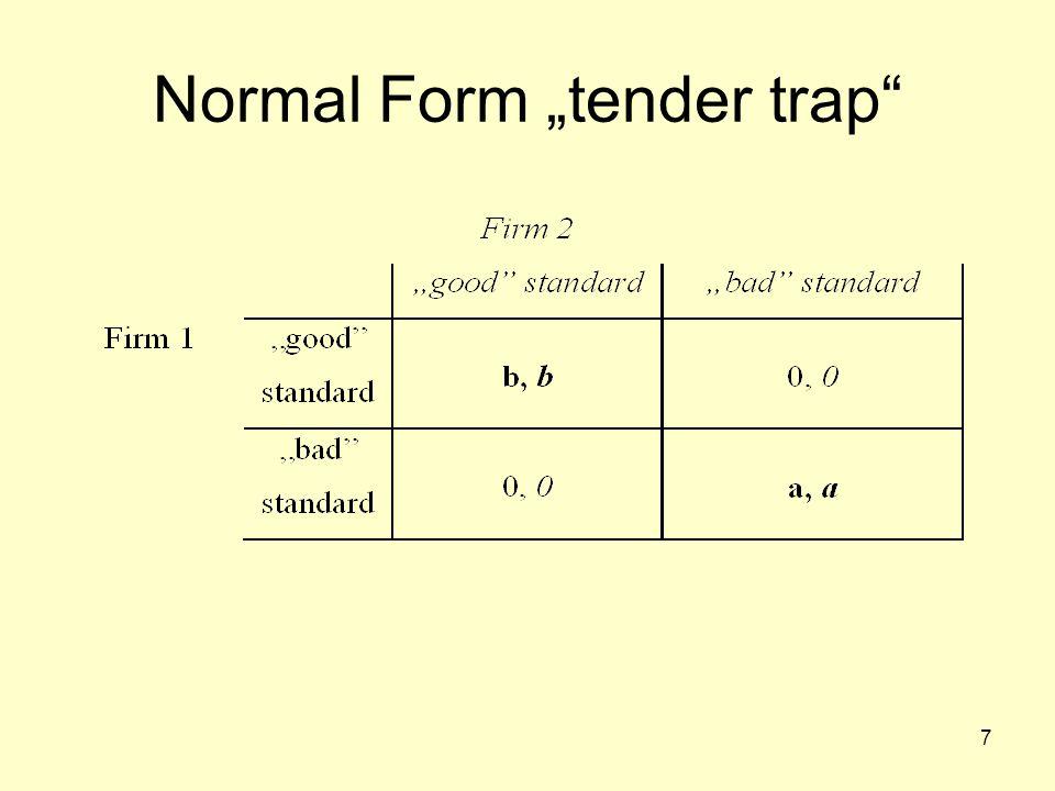 "7 Normal Form ""tender trap"""