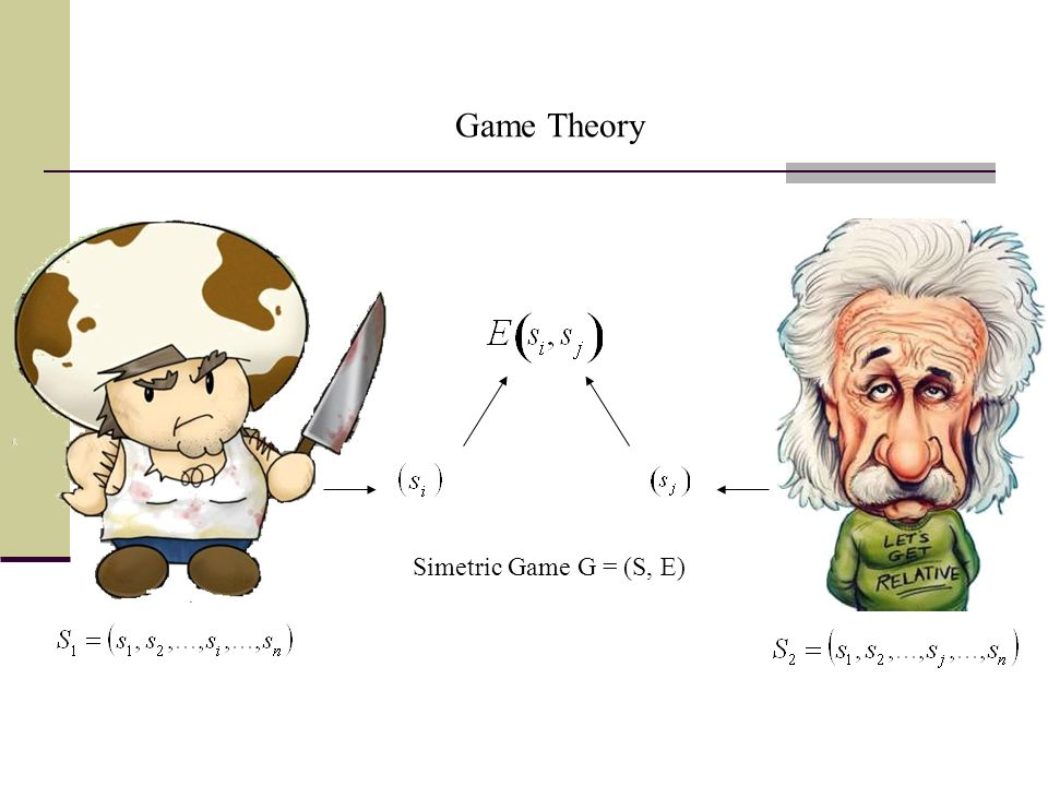 Simetric Game G = (S, E) Game Theory