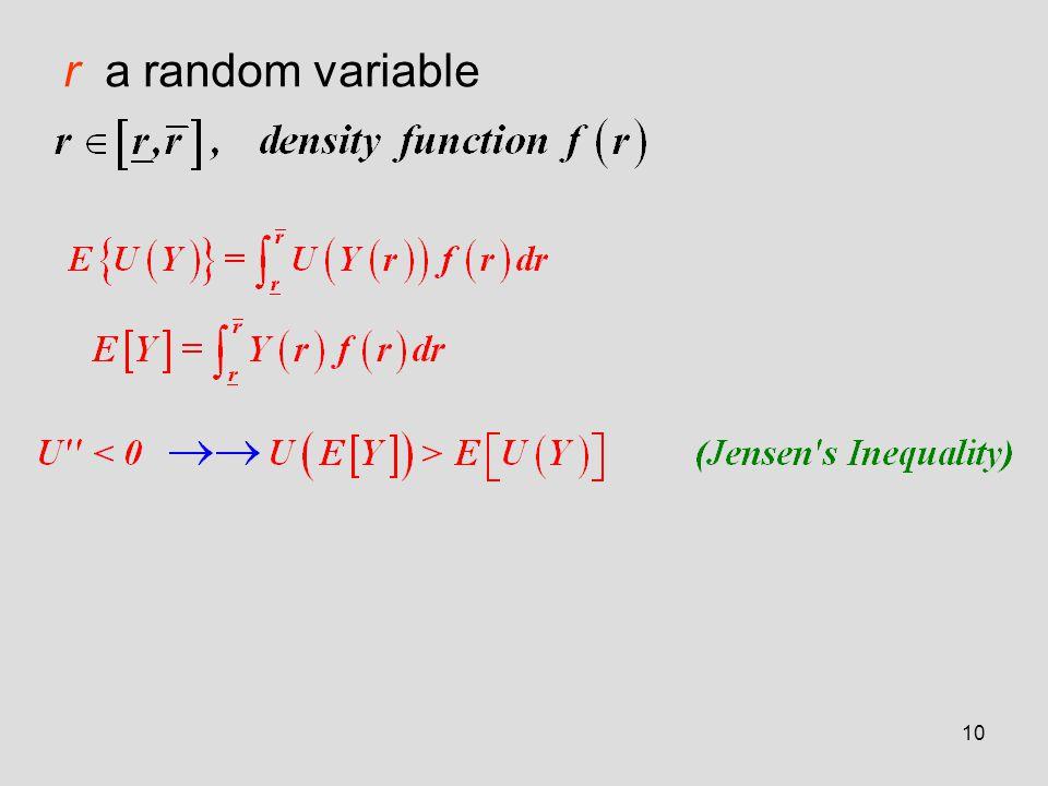10 r a random variable