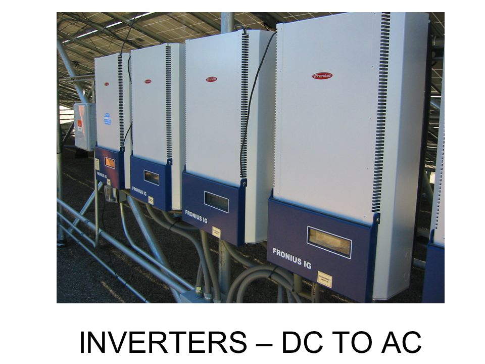 INVERTERS – DC TO AC