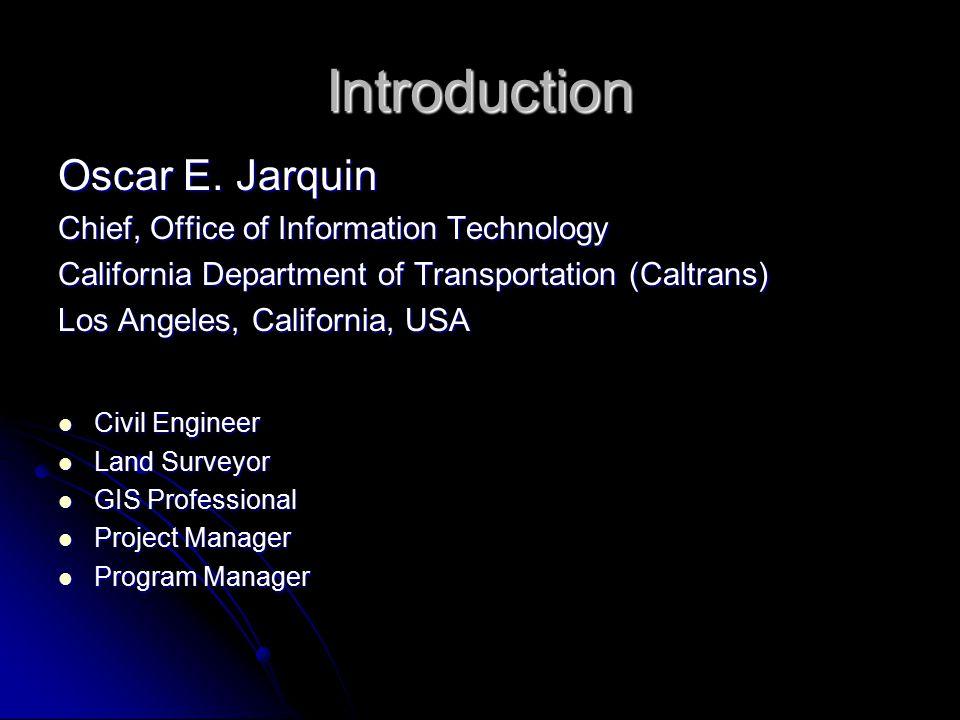 Introduction Oscar E.