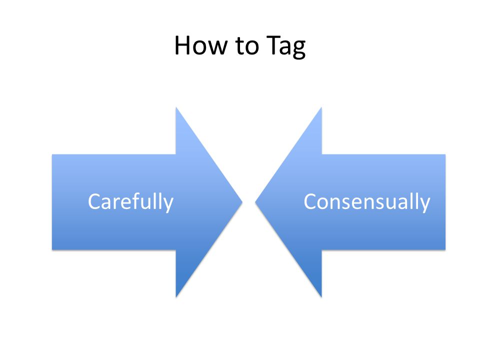 How to Tag CarefullyConsensually