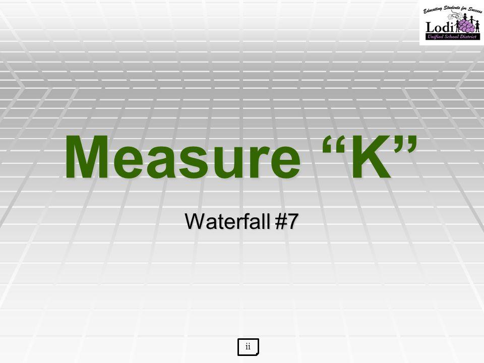 "Measure ""K"" Waterfall #7 ii"