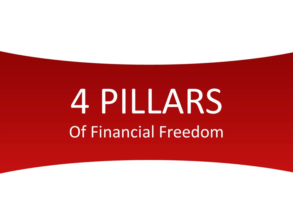 4 PILLARS Of Financial Freedom