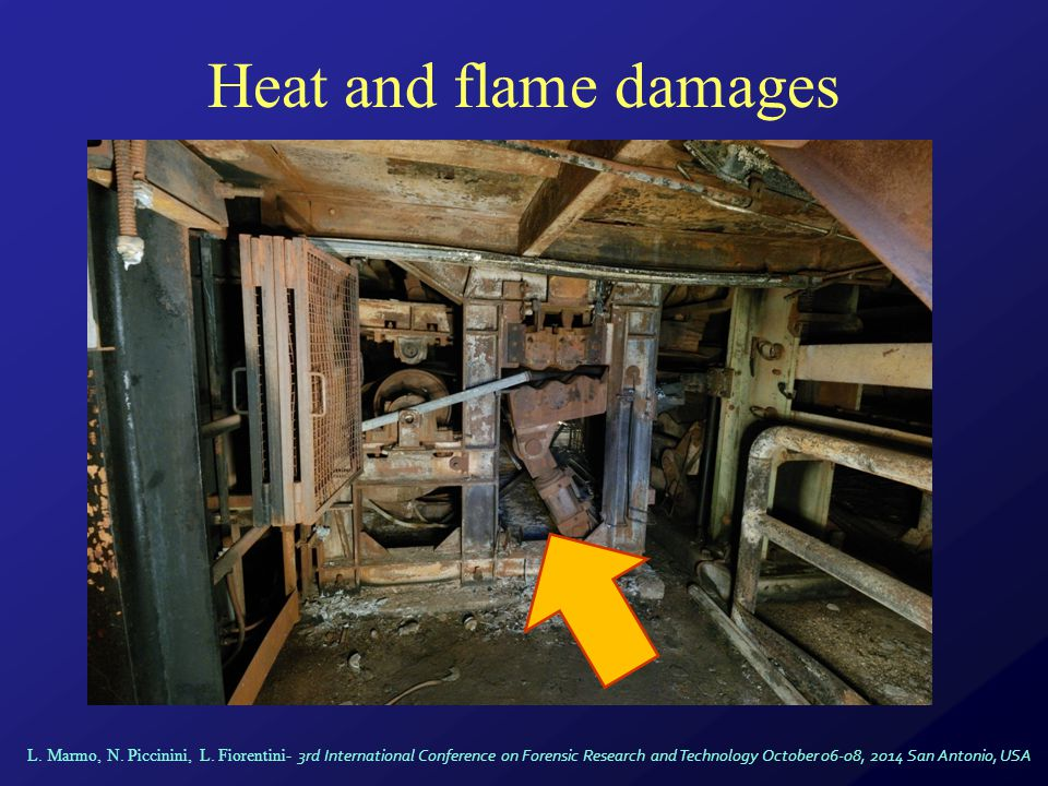 Heat and flame damages L.Marmo, N. Piccinini, L.