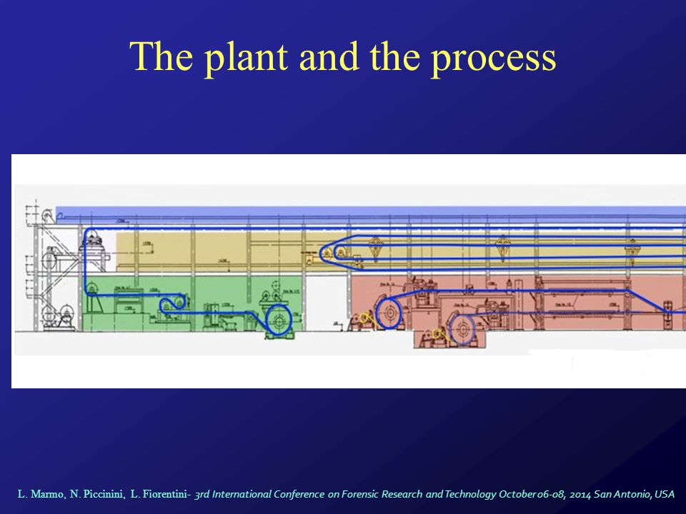 The plant and the process L.Marmo, N. Piccinini, L.