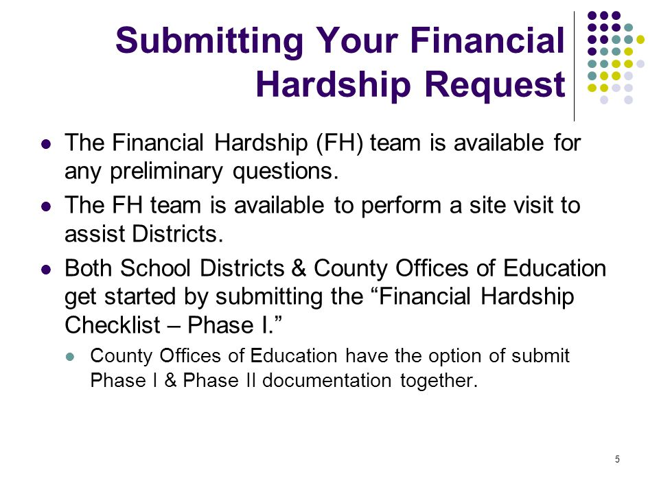 6 District Contact During the review, the district will need to provide reliable day to day contacts who can provide additional information in order to resolve issues.