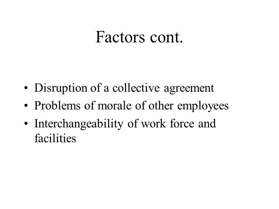 Factors cont.