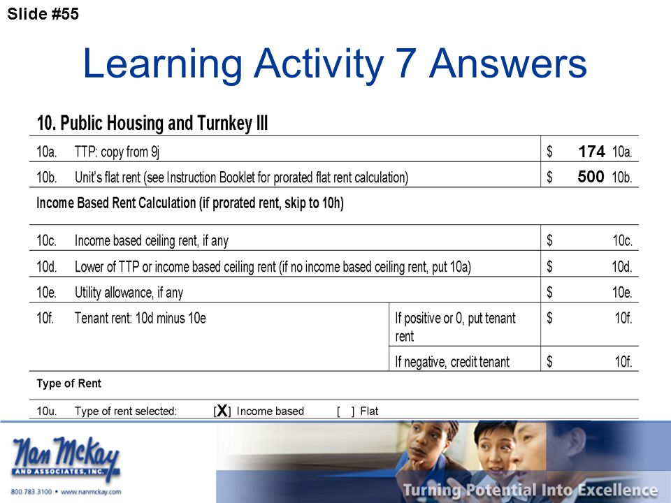 Slide #55 Learning Activity 7 Answers 174 X 500