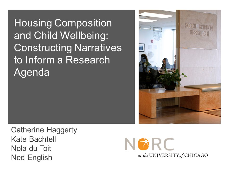 42 Findings: Two Parent Families Common themes in HH with change: Only adults changed.