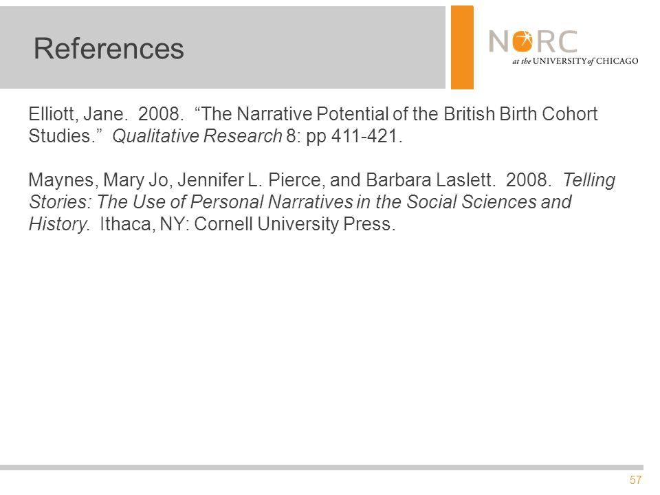 57 References Elliott, Jane. 2008.
