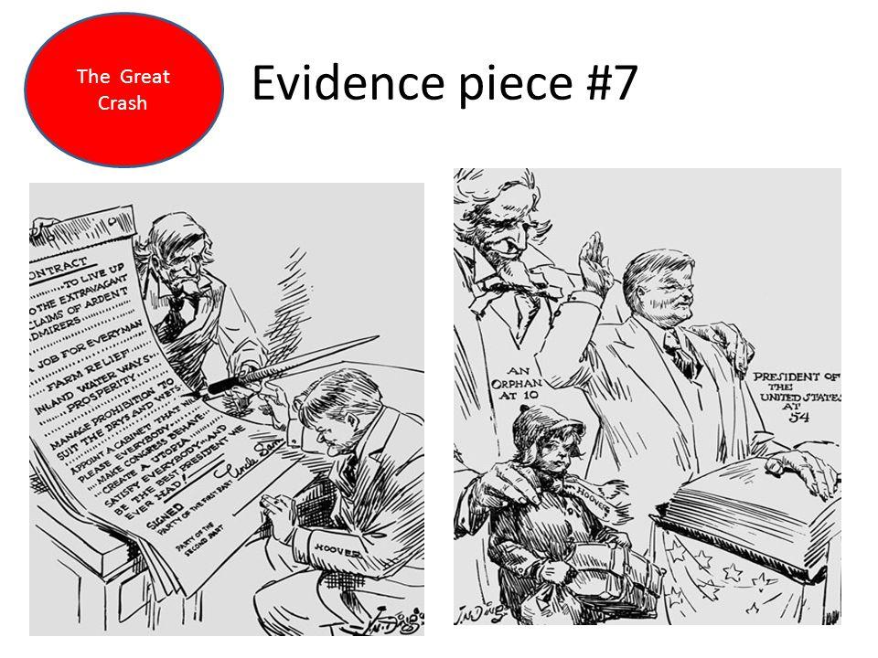 Evidence piece #7 The Great Crash