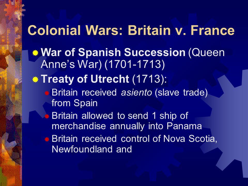 Colonial Wars: Britain v.