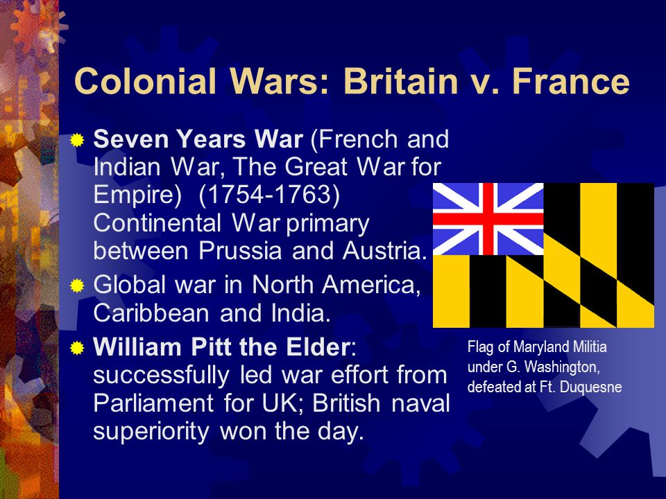 Colonial Wars: Britain v.