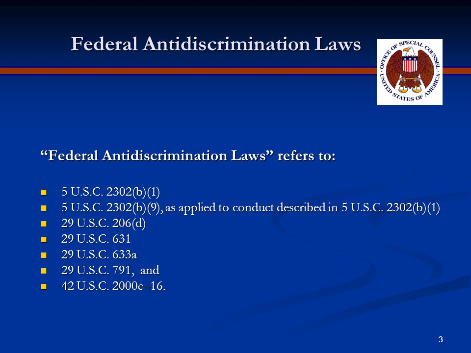 """2 What is the No Fear Act? On May 15, 2002, Congress enacted the """"Notification and Federal Employee Antidiscrimination and Retaliation Act of 2002,"""" w"""