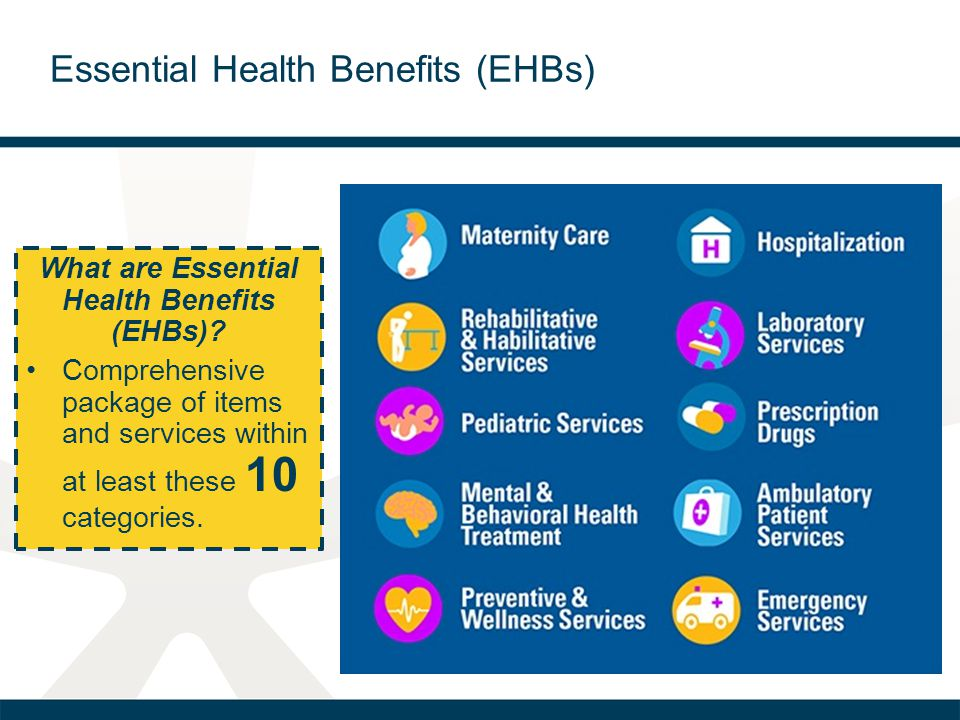 What are Essential Health Benefits (EHBs).