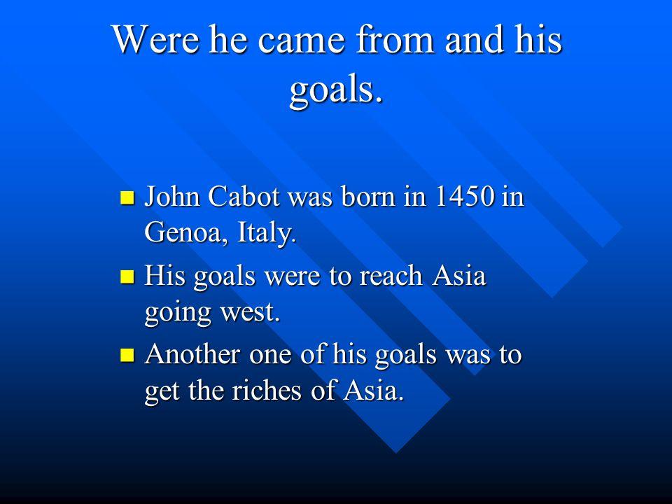 John Cabot By Patrick Lolli