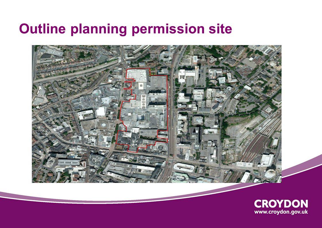 Outline planning permission site