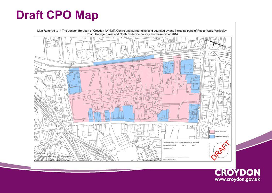 Draft CPO Map