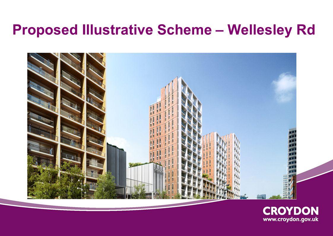 Proposed Illustrative Scheme – Wellesley Rd