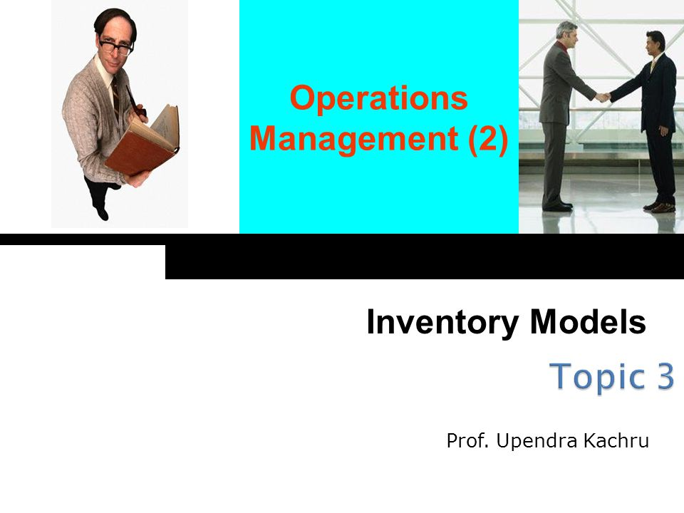 L = Lead Time T = Time between orders I = Existing Inventory Q = Order Size Total Annual Cost = Purchase Cost + Ordering Cost + Holding Cost