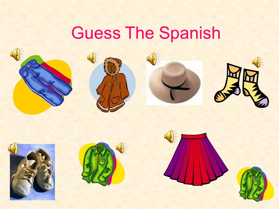 Guess The Spanish