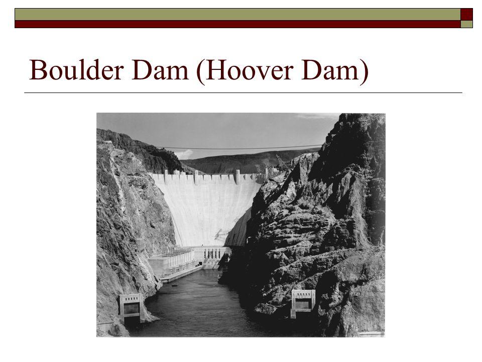 Boulder Dam (Hoover Dam)
