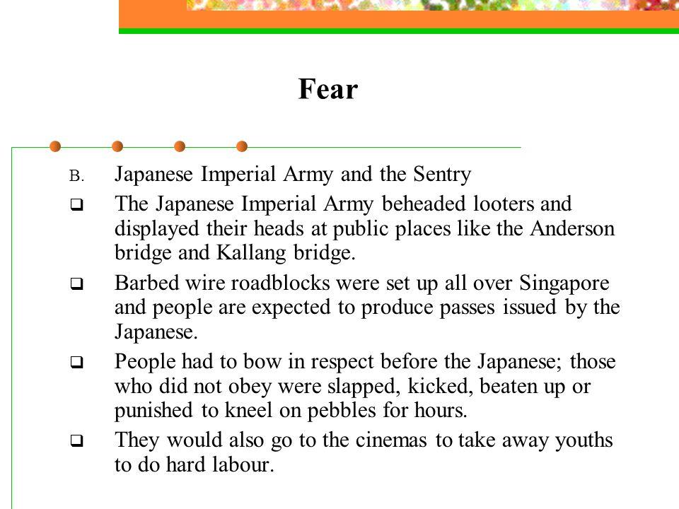 Fear B.