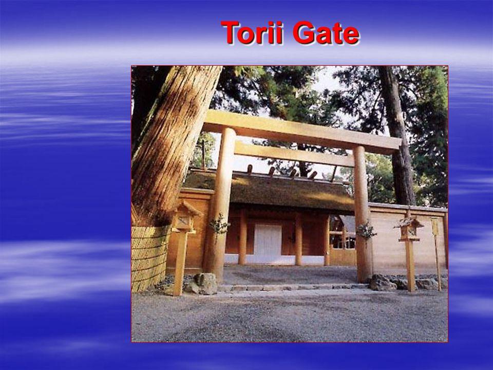 Torii Gate in Winter