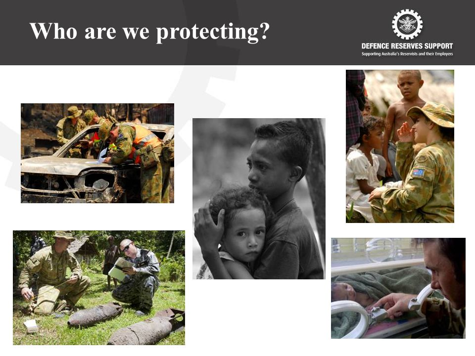 Who are we protecting