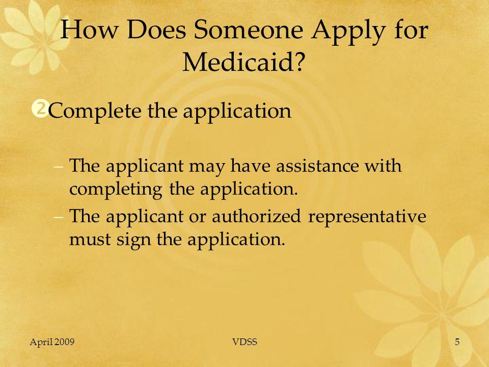 April 2009VDSS26 Medicaid Long-term Care (LTC) Nursing Facility (NF), Community-based Care (CBC) & PACE Part II